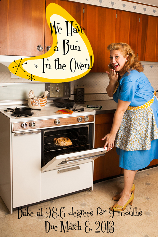 Big announcement! Bun In My Oven! » Wendi Riggens