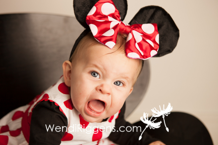 Sweet Baby Minnie Mouse Amelia