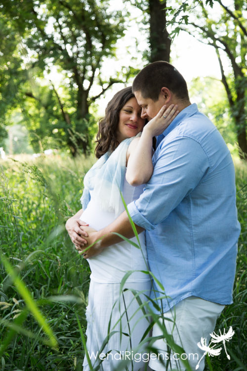 Burlington Iowa Maternity Pregnancy Photography